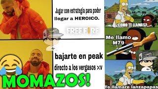 ¡LOS MEJORES MEMES de FREE FIRE! #3 IMPOSIBLE NO REÍRTE! 😂😂