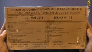 MRE Review - French Army Combat Ration - 24hr RCIR - Menu 12 (Part 1: Contents & Breakfast)