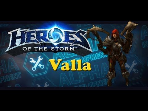Heroes of the Storm - Valla Champion Overview (Full Gameplay)
