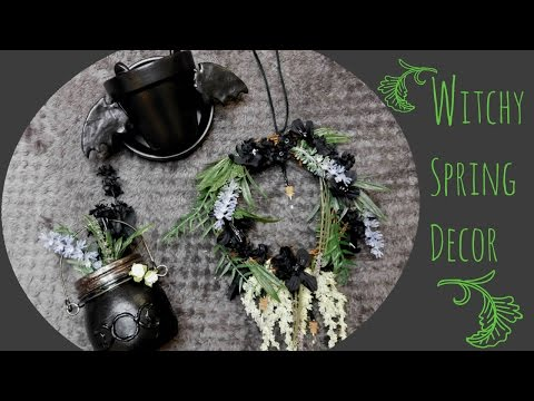 DIY: Witchy Spring Home Decor | Ghostly Haunts 🎃