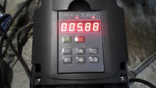 Variateur 220Mono/220 Tri sur Moteur 220/380 qui siffle