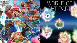 LETS FREE SOME SPIRITS AND FIGHTERS || Super Smash Bros: World of Light - Part 2