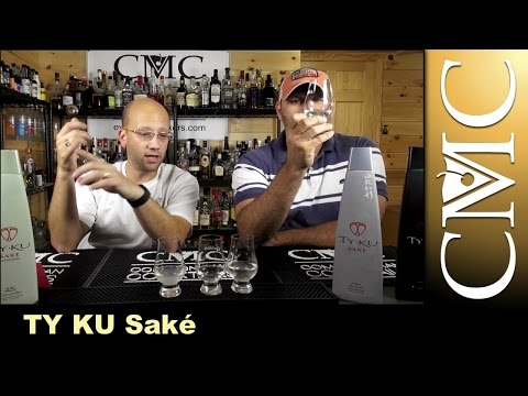 Ty Ku Sake Review: Cucumber, Coconut, Junmai Gingo