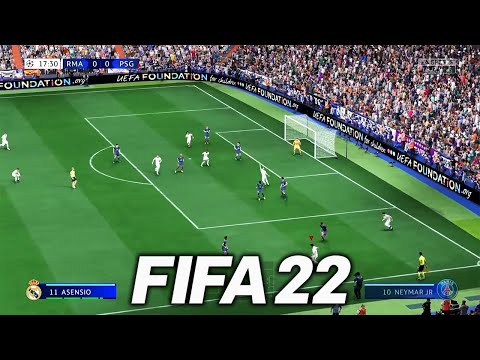 FIRST OFFICIAL FIFA 22 GAMEPLAY!