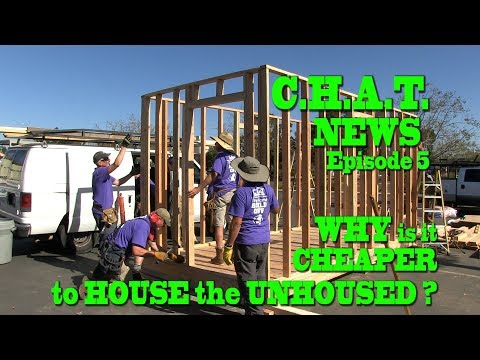 CHAT NEWS #5 - Why Is It CHEAPER To HOUSE The HOMELESS?