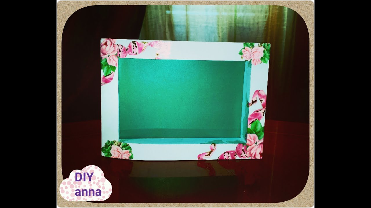 Decoupage picture frame roses decorations diy craft ideas tutorial decoupage picture frame roses decorations diy craft ideas tutorial uradi sam youtube jeuxipadfo Image collections