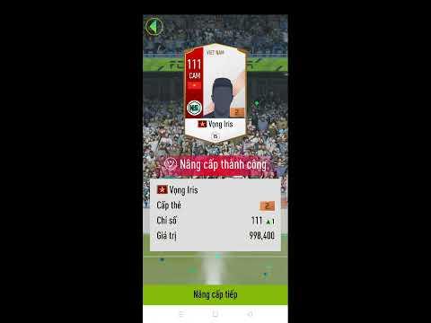 Cầu thủ mới của Tuyển Việt Nam trong FIFA ONLINE 4 l Mạnh hơn cả huyền thoại, Ép thẻ +5 chỉ 27 triệu