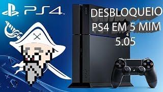 COMO DESBLOQUEAR O PS4 - SEM PAYLOAD NO PC - PS4 5.05 HEN