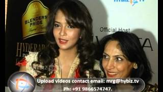 Lakshmi  Manchu, Actress, Blenders Pride Hyderabad International Fashion Week-2012