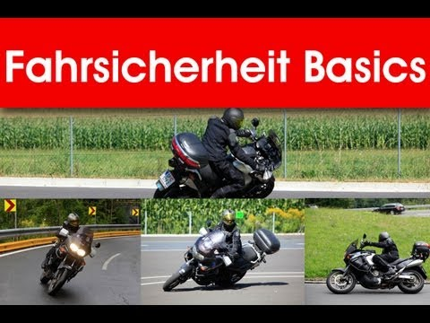 Motorrad Fahrsicherheitstraining Basics | Blicktechnik, Bremstechnik, Ausweichen, sichere Linie