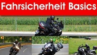 Motorrad fahren lernen - How to - Fahrsicherheitstraining - Blicktechnik, Bremstechnik, Linie