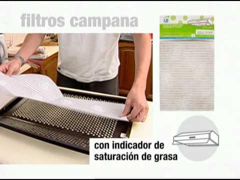 Campana estractora cocina filtro casero y modificacion luz - Como limpiar el extractor de la cocina ...
