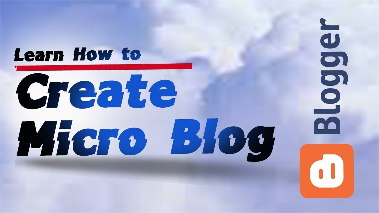 How to Learn About Micro Blogging foto