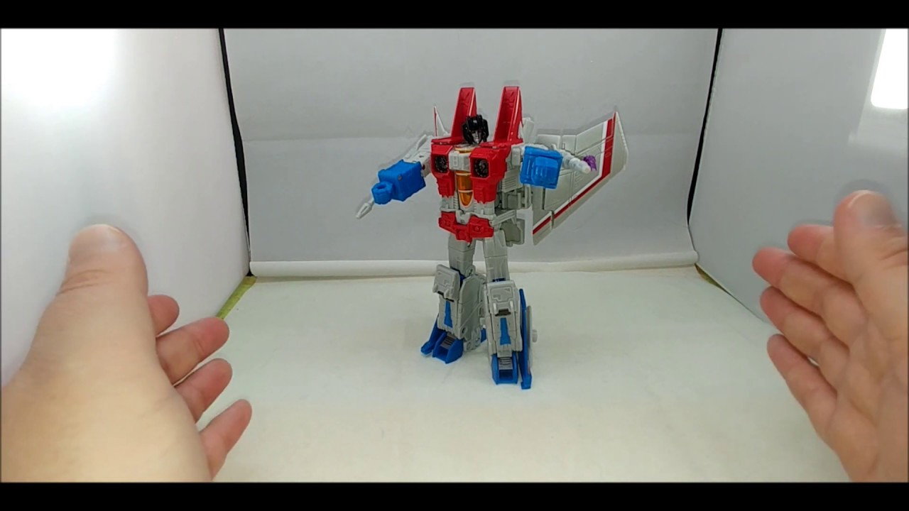 Chuck's Reviews Transformers Earthrise Starscream