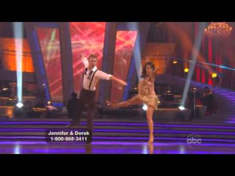 Jennifer Grey and Derek Hough Dancing with the stars WK 2 Jive