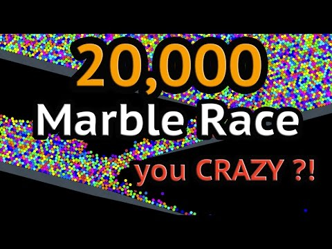 20000 Marble Race! Only ONE WINNER