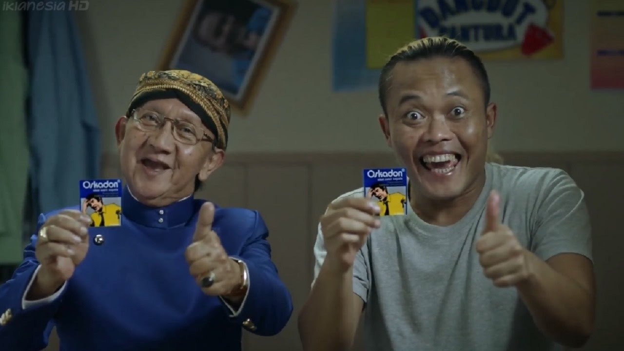Iklan Oskadon Ki Manteb Soedharsono & Sule Sakit Kepala Hilang Hidup Jadi Tenang 45sec 2017
