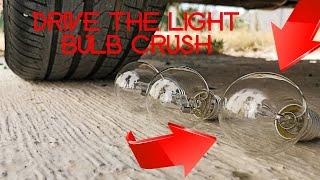 Crushing Crunchy & Soft Things by Car! - Car vs bulb | light bulb crush | arabayla ampul ezmek