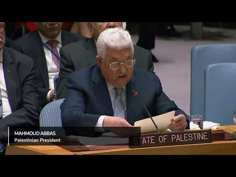 Abbas slams Trump on Jerusalem, calls for peace conference