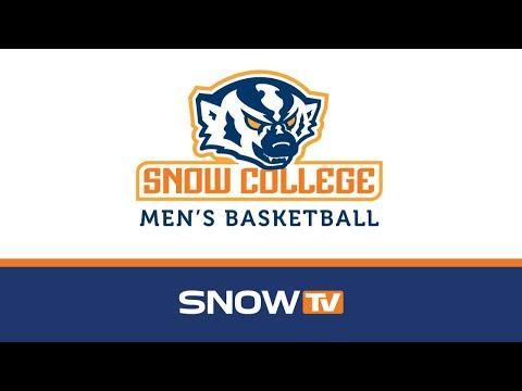 Snow College Men's Basketball vs. USU-E 1-9-2020
