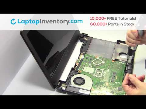 ASUS R409 FAN Replacement Motherboard Replacement Replace Fix Install Laptop A450 F450 F401 X450