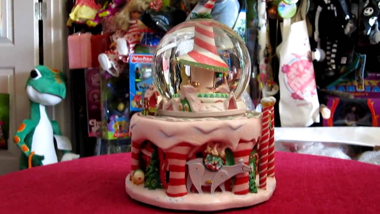 nightmare before christmas christmastown snowglobe