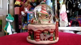 Nightmare Before Christmas Christmastown Snowglobe