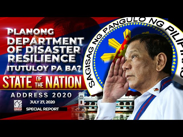 Planong Department of Disaster Resilience itutuloy pa ba?