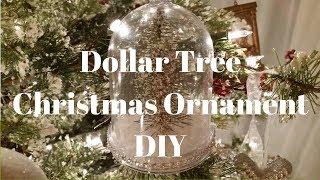 Dollar Tree Christmas Ornament DIY