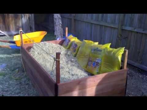 Australian Gardens - How to Build an Organic Raised Garden Bed! Hunters Hill, NSW 2110 Australia