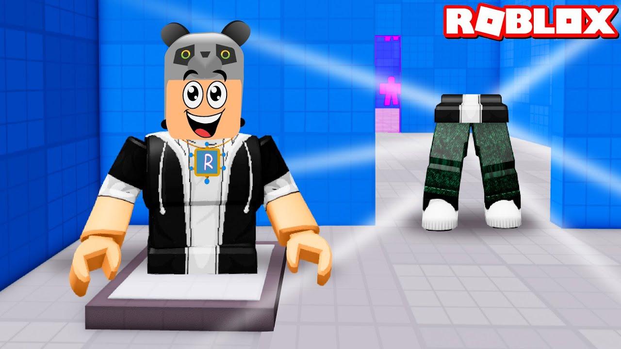 İkiye Bölündüm!! - Panda ile Roblox Split