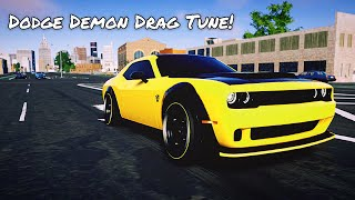 Drag Tune For The Dodge Demon| The Crew 2