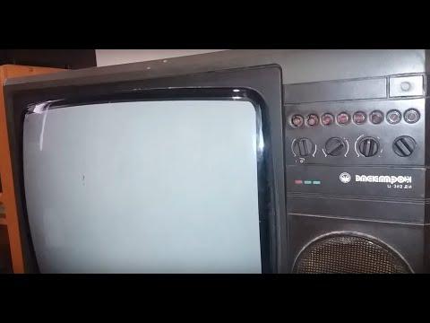 Золото, палладій і платина в радянському телевізорі Электрон