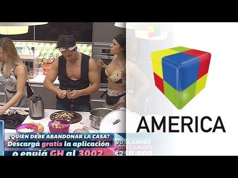 Cocina hot en #GH2015: Romina y Flor, en lencería