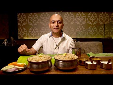 Nagarjuna Vs Meghana Foods|Tasting Bengaluru's Most Popular Andhra Biryanis|Mutton & Chicken Biryani