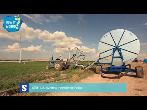 How Does Sezer Irrigation System Work ? Installation And Operation Steps