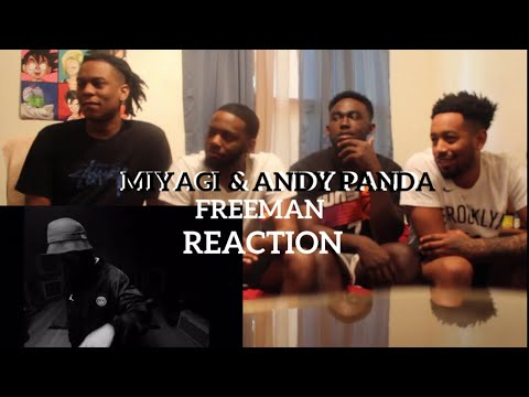Miyagi & Andy Panda - Freeman (Official Video)   REACTION