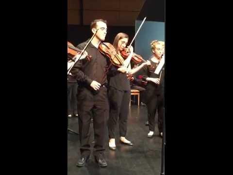 University of California Davis Baroque Ensemble: Brandenburg Concerto No. 1