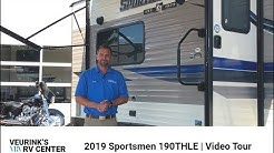 2019 KZ RV Sportsmen 190THLE | Toy Hauler Floor Plan | Veurink's RV Center