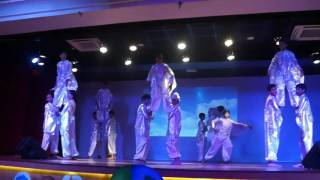 five elements dance choreography rimt world school chandigarh