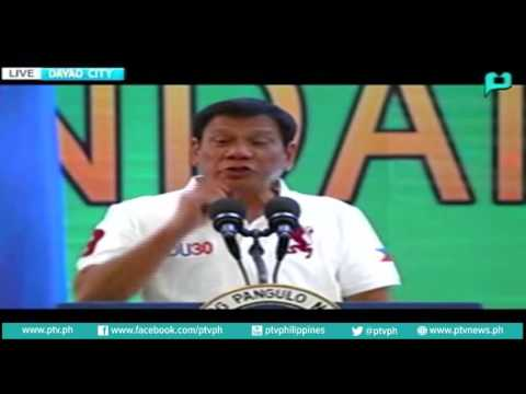 Speech of President Rody Duterte at the Mindanao Hariraya Eid'l Fit'r 2016