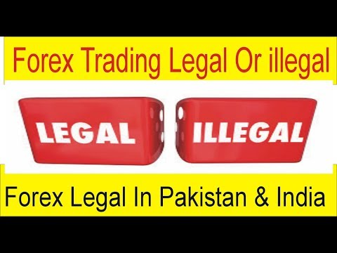 How is forex legal