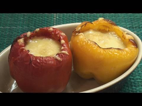 Vegetarian Stuffed Peppers Recipe