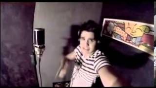 Luan Santana cantando o novo tema do Caldeirão do Huck [Making Of]
