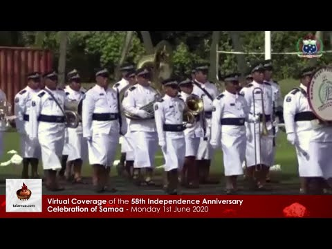 Virtual Coverage of the 58th Independence Anniversary Celebration of Samoa - Opening
