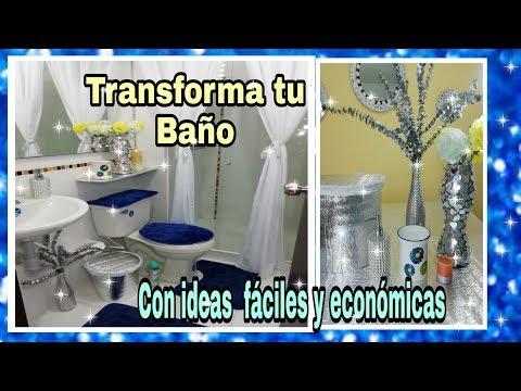 IDEAS PARA DECORAR UN BAÃ'O PEQUEÃ'O  (ELEGANTE)
