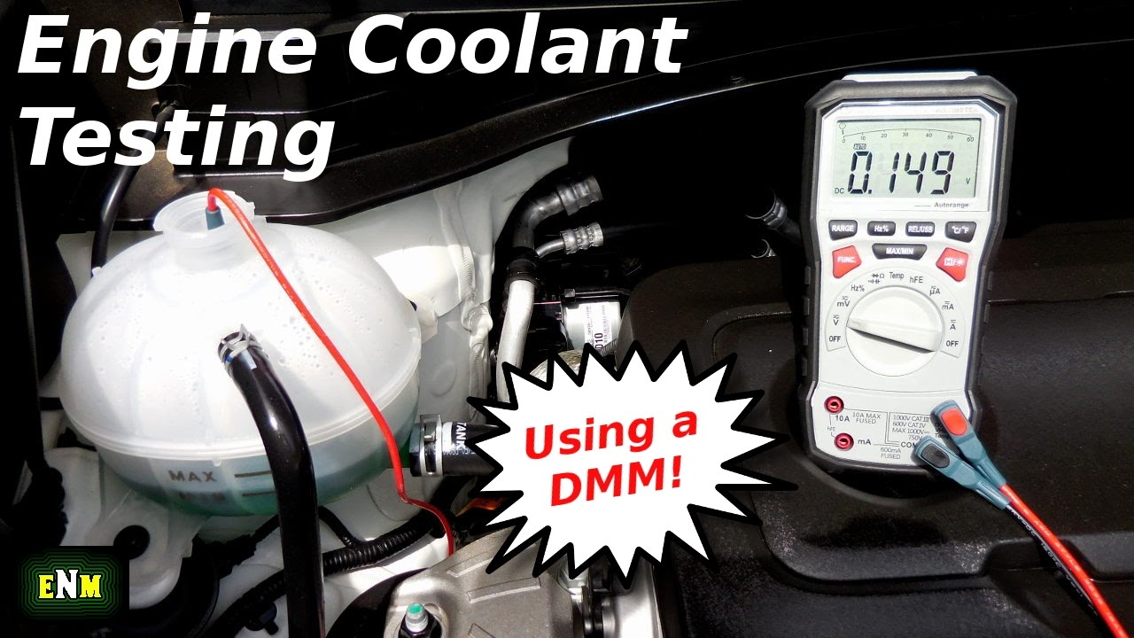 How To Test Engine Coolant Antifreeze Using A Dmm
