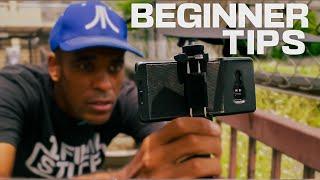 Tutorial 1: Mobile Filmmaking.....The Basic Cinematic Shots