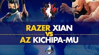 Razer Xian (Ibuki) VS AZ Kichipa-mu (Zangief) - Canada Cup 2019 Pools - CPT 2019