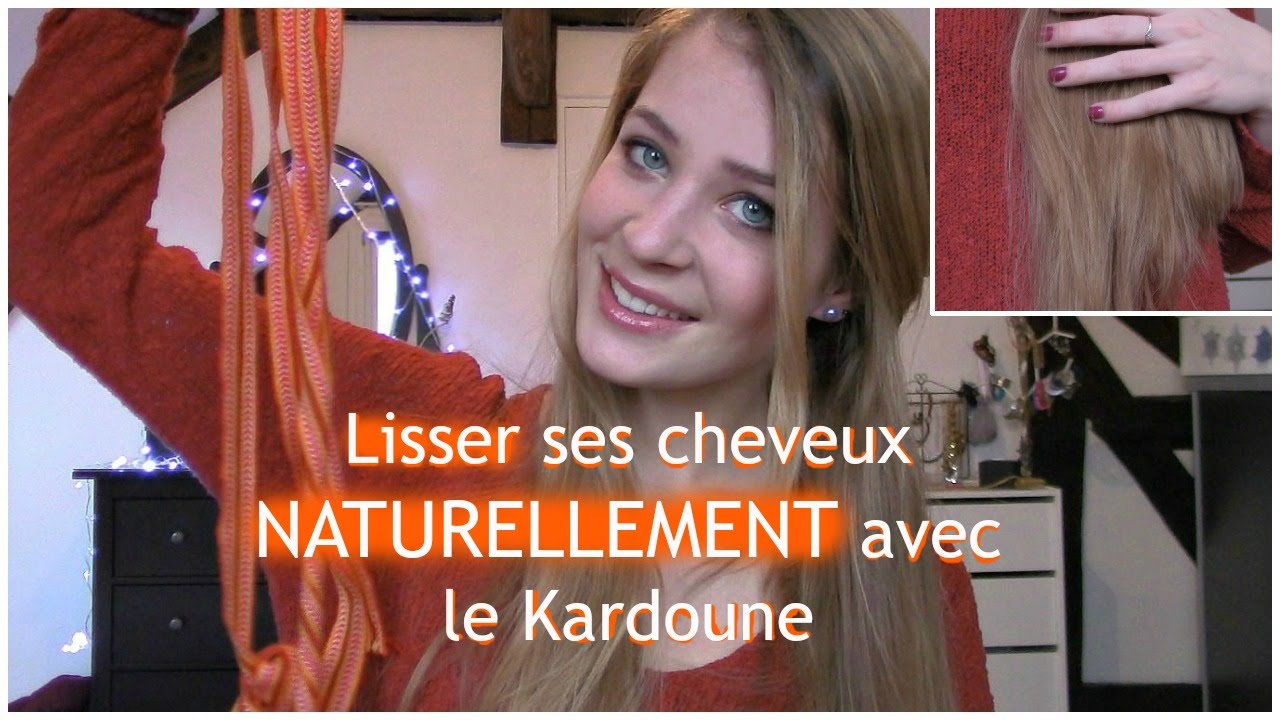 se lisser les cheveux naturellement sans chaleur avec le kardoune cardoune youtube. Black Bedroom Furniture Sets. Home Design Ideas